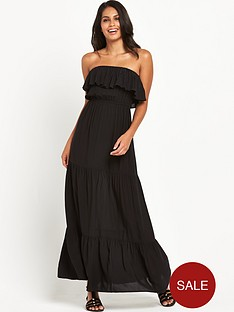 v-by-very-frill-bandeau-beach-maxi-dress