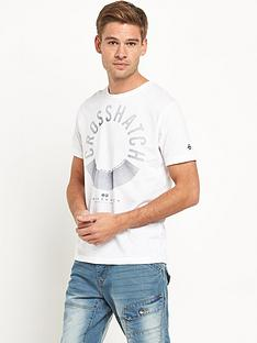 crosshatch-sunrise-mens-t-shirt
