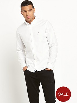tommy-hilfiger-long-sleeved-oxford-shirt