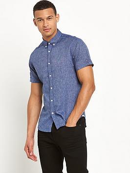 tommy-hilfiger-chambray-mens-shirt