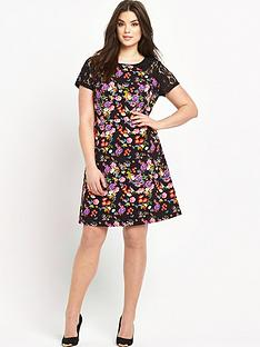 so-fabulous-lace-sleeve-floral-print-dress