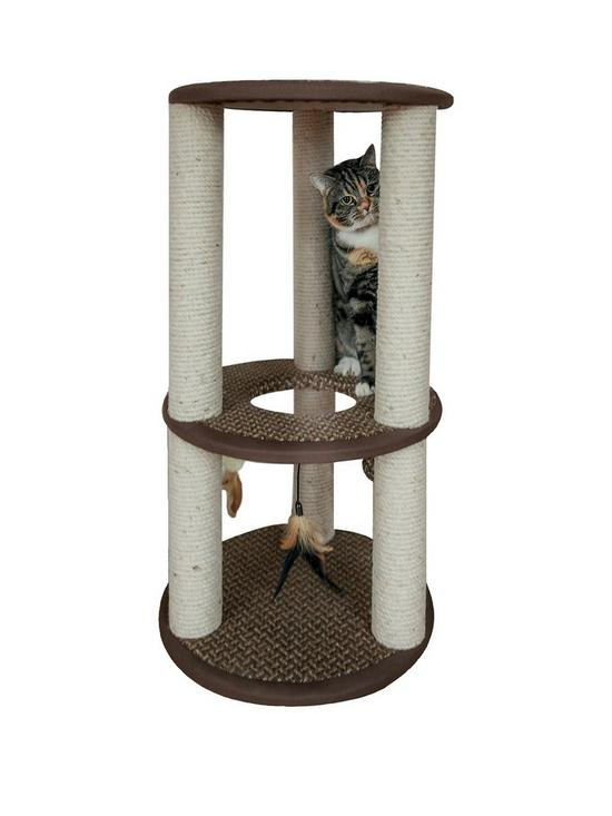 8b49670832e Rosewood Cinnamon Cat Scratcher Activity Centre   very.co.uk