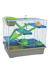 Pico Silver & Green Small Animal Home - XLarge