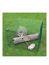 Deluxe Small Animal Play Pen With Net