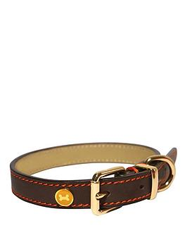 rosewood-luxury-leather-collar-brown-22--26inch-x-15inch