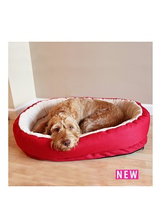 rosewood-red-amp-cream-orthapedic-bed-34inch