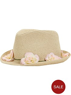 girls-flower-trim-trilby