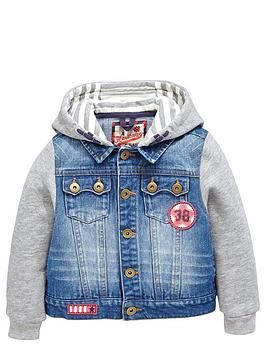 ladybird-boys-jersey-sleeved-denim-jacket