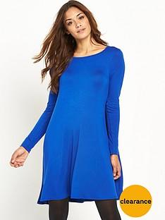 v-by-very-basic-jersey-swing-dress