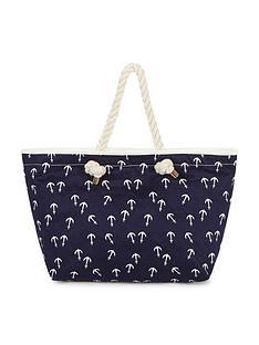 anchor-print-beach-bag