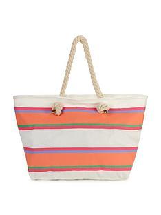 multi-stripe-beach-bag