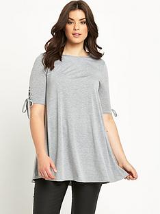 so-fabulous-eyelet-sleeve-jersey-tunic-top