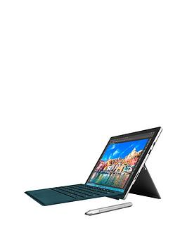 microsoft-surface-pro-4-intelreg-coretrade-i5-processor-4gb-ram-128gb-solid-state-drive-wi-fi-123-inch-tablet-with-teal-type-cover-and-optional-microsoft-office-365-personal