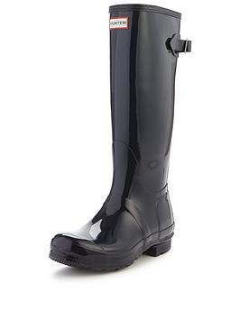 hunter-hunter-original-back-adjustable-tall-gloss-welly