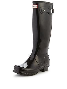 hunter-original-tall-gloss-wellington-boots-black