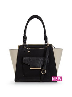 miss-selfridge-monochrome-tote-bag