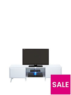 Xander Wide High Gloss TV Stand with LED Lights (fits up to 62 inch TV)