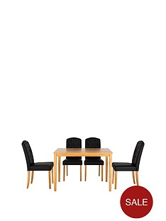primo-dining-table-4-quilted-effect-dining-chairs