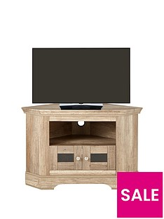 Ideal Home Wiltshire Corner TV Unit - fits up to 43 Inch TV