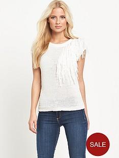v-by-very-tassel-neck-trim-short-sleeve-jumpernbsp
