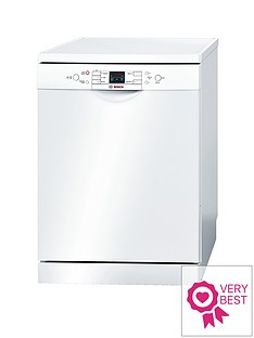 Bosch SMS58M42GBActiveWater14-Place Dishwasher - White