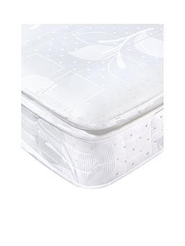 Product photograph showing Airsprung Rolled Pillowtop Comfort Mattress