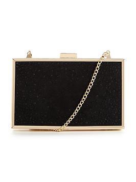 lipsy-diamanteacutenbspbox-clutch-bag