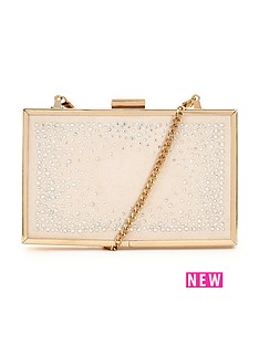 lipsy-diamante-box-clutch-bag