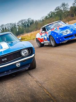 virgin-experience-days-fathers-day-double-american-muscle-car-blast