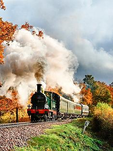virgin-experience-days-bluebell-railway-steam-train-trip-and-visit-to-wakehurst-place-botanic-garden-for-two