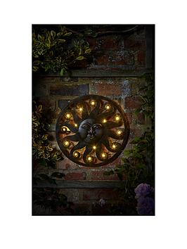 Smart Garden In-Lit Wall DÉCor – Celestial Sun – 12 Warm White Leds