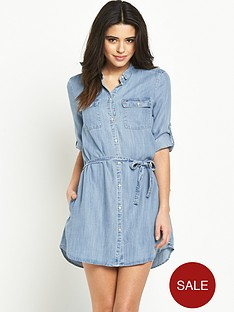 hilfiger-denim-shirt-dress-drapey-indigo-light