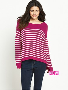 hilfiger-denim-basic-stripe-sweater-sangria