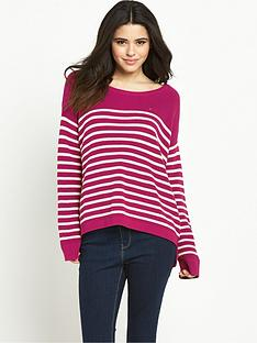 hilfiger-denim-stripe-sweater-sangria