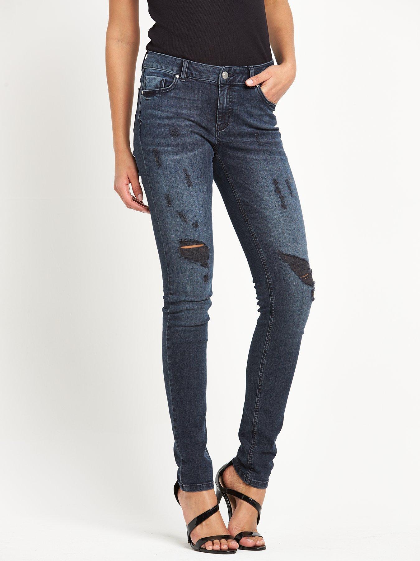 Very Ripped Skinny Jeans Ye Jean