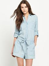Denim & Supply Lake Denim Romper Suit