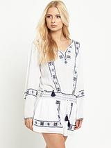 Dideon Embroidered Romper Suit