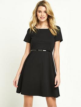 v-by-very-ponte-fit-and-flare-dress