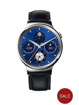 huawei-unisex-w1-classic-smart-watch-with-leather-bracelet
