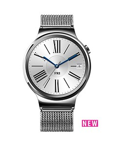 huawei-classic-smart-watch-with-mesh-bracelet