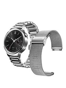 huawei-classic-smart-watch-with-link-bracelet-amp-free-silver-mesh-strap