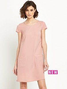 boss-orange-acuty-shift-dress-pink
