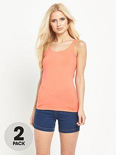 v-by-very-2pknbspcotton-stretch-vestsnbsp