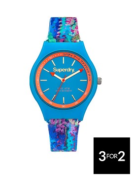superdry-urban-liberty-blue-dial-blue-silicone-flower-printed-strap-ladies-watch