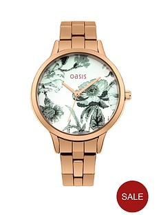 oasis-white-floral-printed-dial-rose-gold-metal-bracelet-ladies-watch