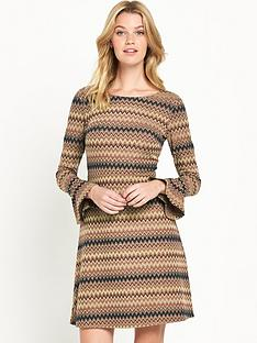 v-by-very-zignbspzag-bell-sleeve-dress