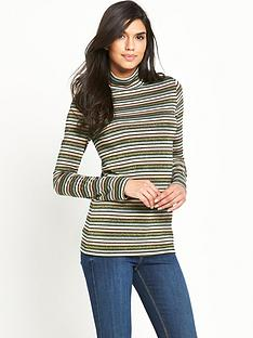 v-by-very-metallic-stripe-jersey-turtle-neck-top