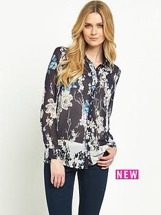 v-by-very-border-print-floral-shirt