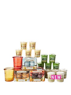 yankee-candle-53-piece-mixed-collectionnbsp--buckets-votives-and-tea-lights-set