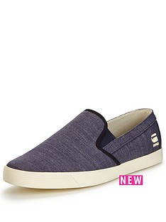 g-star-raw-g-star-raw-dex-slip-on-heavy-chambray-plimsoll